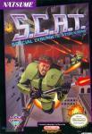 Carátula de S.C.A.T. Special Cybernetic Attack Team para NES