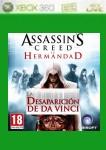 Car�tula de Assassin's Creed: La hermandad - La desaparici�n de Da Vinci