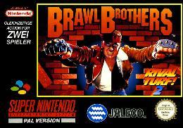 Carátula de Brawl Brothers para Super Nintendo