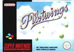 Carátula de Pilotwings para Super Nintendo