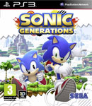 Car�tula de Sonic Generations para PlayStation 3