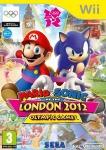 Carátula de Mario y Sonic en los Juegos Olímpicos de Londres 2012 para Wii