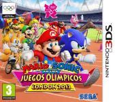 Carátula de Mario y Sonic en los Juegos Olímpicos de Londres 2012 para Nintendo 3DS