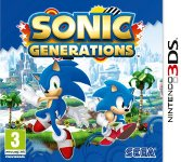 Car�tula de Sonic Generations para Nintendo 3DS