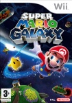 Carátula de Super Mario Galaxy para Wii