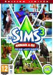 Carátula de Los Sims 3: ¡Vaya fauna! para PC