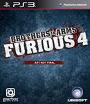 Car�tula de Brothers in Arms: Furious 4 para PlayStation 3