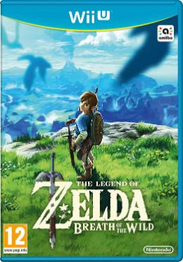 Carátula de The Legend of Zelda: Breath of the Wild para Wii U