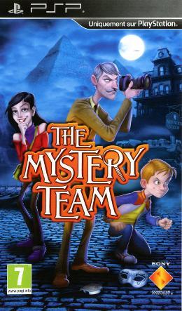 Carátula de The Mystery Team: Cazadores de Pistas
