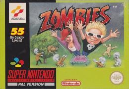 Carátula de Zombies Ate My Neighbors para Super Nintendo