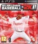 Carátula o portada Europea del juego Major League Baseball 2K11 para PlayStation 3