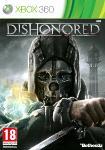 Carátula o portada Europea del juego Dishonored para Xbox 360