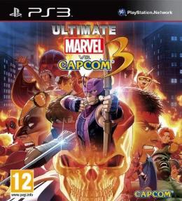 Carátula de Ultimate Marvel Vs. Capcom 3 para PlayStation 3