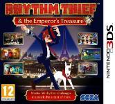 Carátula de Rhythm Thief y el misterio del emperador para Nintendo 3DS