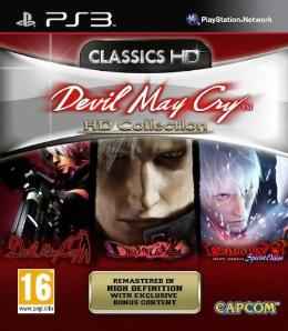 Carátula de Devil May Cry HD Collection para PlayStation 3