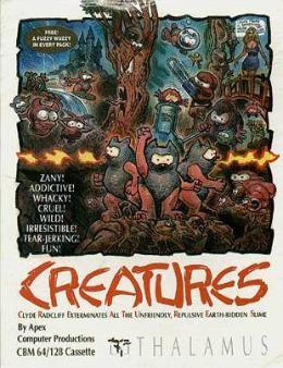 Carátula de Creatures para Commodore 64