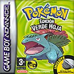 Carátula de Pokémon Verde Hoja para Game Boy Advance