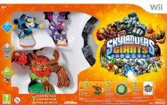 Carátula de Skylanders Giants para Wii