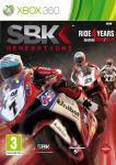 Carátula o portada Europea del juego SBK Generations para Xbox 360
