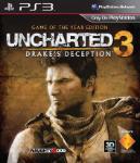 Carátula de Uncharted 3: La traición de Drake Game of the Year edition para PlayStation 3