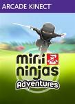 Carátula o portada Logo Oficial del juego Mini Ninjas Adventures para Xbox 360 - XLB