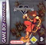 Carátula de Kingdom Hearts: Chain of Memories para Game Boy Advance