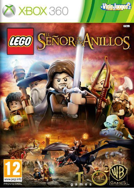 Todas Las Caratulas O Portadas Del Videojuego Lego El Senor De Los