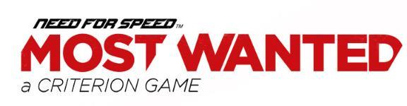 Carátula o portada Logo Oficial del juego Need for Speed Most Wanted - A Criterion Game para PC
