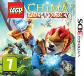 Car�tula de LEGO Legends of Chima: El Viaje de Laval para Nintendo 3DS