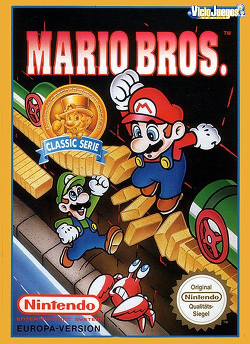 Todas Las Caratulas O Portadas Del Videojuego Mario Bros Para Nes