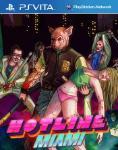 Carátula de Hotline Miami para PlayStation Vita