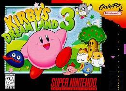 Carátula de Kirby's Dream Land 3 para Super Nintendo