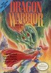 Carátula de Dragon Quest para NES