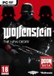 Carátula o portada Europea del juego Wolfenstein: The New Order para PC