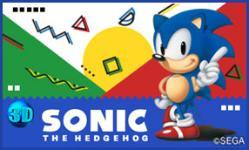 Carátula de 3D Sonic The Hedgehog para Nintendo 3DS