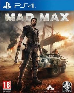 Carátula de Mad Max para PlayStation 4