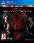 Carátula de Metal Gear Solid V: The Phantom Pain para PlayStation 4