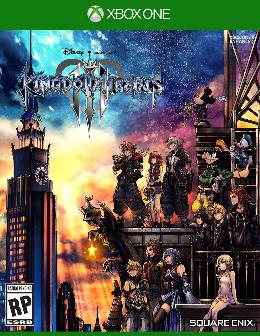 Carátula de Kingdom Hearts III para Xbox One