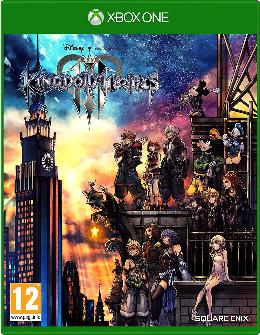 Carátula de Kingdom Hearts III para Xbox One