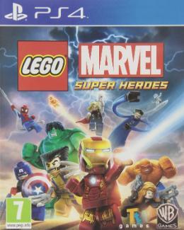 Carátula de LEGO Marvel Super Heroes para PlayStation 4