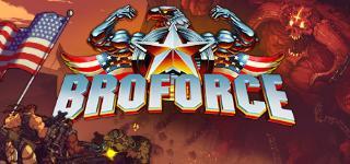 Carátula de Broforce para PC