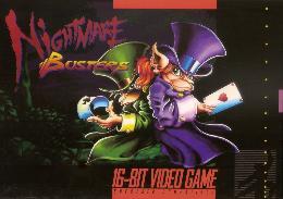 Carátula de Nightmare Busters para Super Nintendo