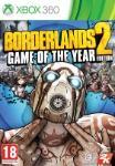Carátula de Borderlands 2: Game of the Year Edition para Xbox 360
