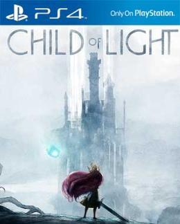 Carátula de Child of Light para PlayStation 4