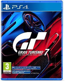 Carátula de Gran Turismo 7 para PlayStation 4