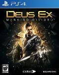 Carátula de Deus Ex: Mankind Divided para PlayStation 4