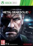 Carátula de Metal Gear Solid V: Ground Zeroes para Xbox 360