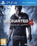Carátula de Uncharted 4: El desenlace del ladrón para PlayStation 4