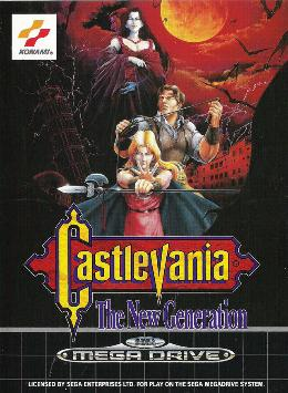 Carátula de Castlevania: The New Generation para Mega Drive