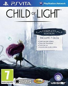 Carátula de Child of Light para PlayStation Vita